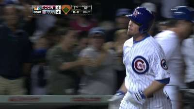 Cubs put on home run display, fall in extra innings