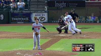 Orioles stung again by D-backs' late thump