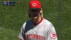Arroyo's easy effort delivers Reds sweep at Wrigley