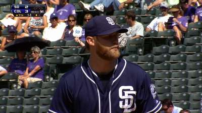 Cashner effective but has little help vs. Rox