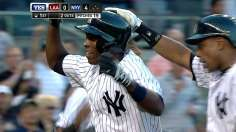 Soriano's seven RBIs power Yanks past Halos