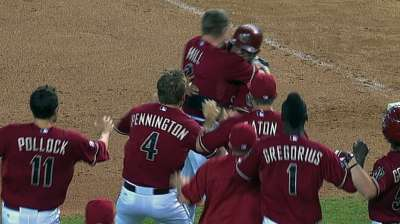 Dirt a key part of Prado's walk-off celebration