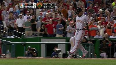 Giants mount comeback before falling to Nats