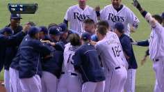 Rays snap skid with walk-off win against M's