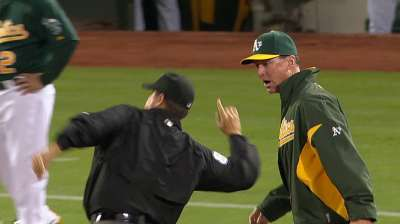 Melvin earns fourth ejection of season