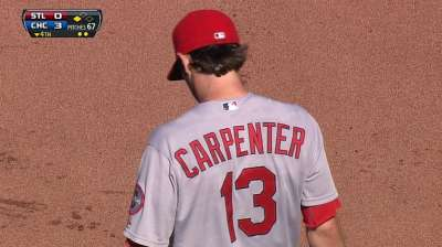 Cards can't counter vs. Cubs as Westbrook wild early
