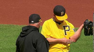 Rodriguez feels off after bullpen session