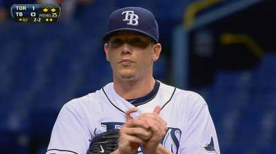 Hellickson rejoins Rays after regrouping in Minors