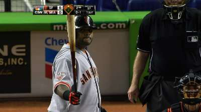 Giants unload offense to outlast Marlins