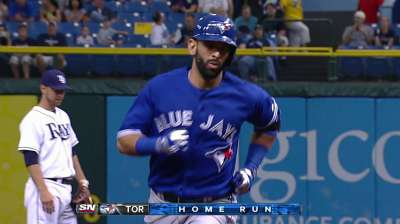 Bautista to miss rest of season with bone bruise