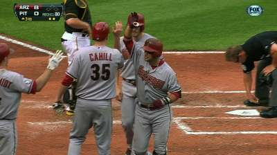 Two-out attack gets D-backs going in slugfest