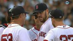 Lackey limits Yankees as bats best Kuroda