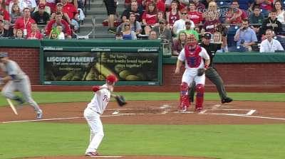 Phillies blanked; losing streak at four games
