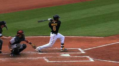 Marte back at leadoff in return to Pirates' lineup
