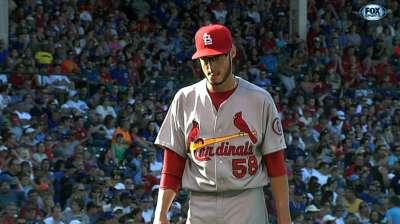 Kelly, Cardinals blank Cubs at Wrigley