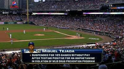 MLB refutes Tejada, Biogenesis report