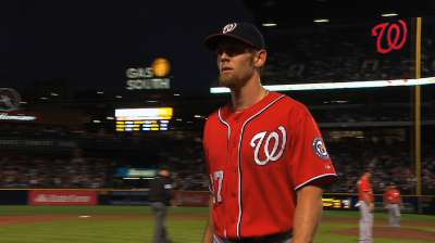 Braves ready to move on after Strasburg's wildness
