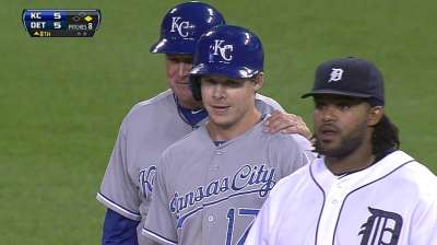 Tigers' weakness exposed by speedy Royals