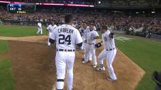 Miggy delivers late again with walk-off homer
