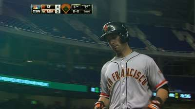 Tight back keeps Scutaro out of lineup