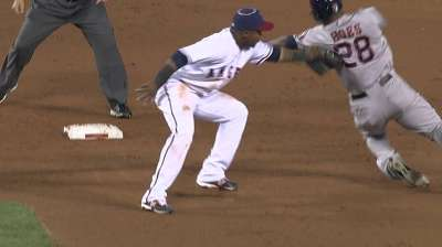 Porter credits umpires for right call on tag play