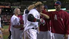 Hamilton's walk-off shot in 10th lifts Angels
