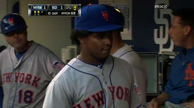 Mejia's elbow flareup may end his season