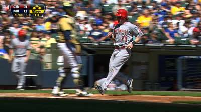 Among Reds' assets is Baker's optimism