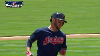Raburn providing surprising power to Indians' lineup