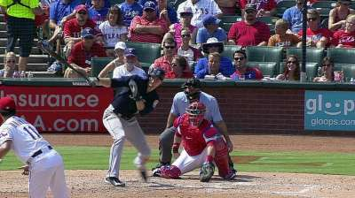 Saunders' three hits vs. Darvish a rarity