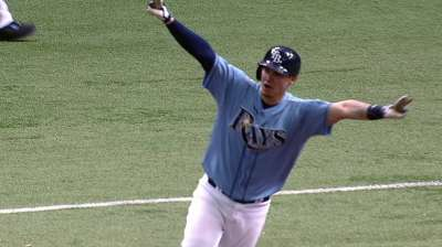 Rays hope to ride 'swarm' offense into October