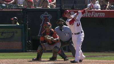 Angels overpowered by Astros in series finale
