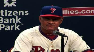 Interim no more: Sandberg named Phils' skipper