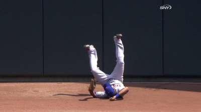 Mets derrotaron a Mellizos en encuentro reasignado