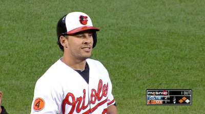 O's recall infielder Valencia from Norfolk