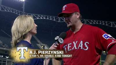 Intentional walks don't bother Pierzynski