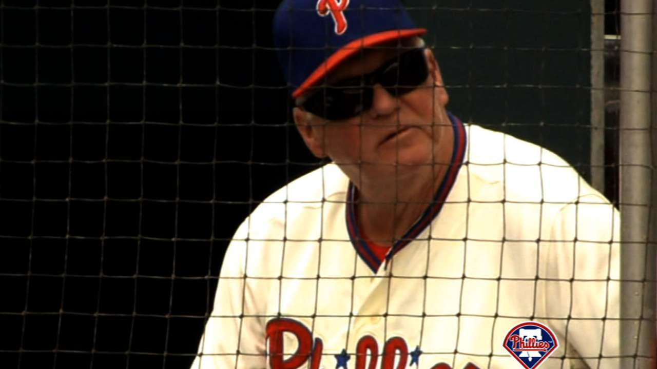 Manuel to join Phillies' Wall of Fame on Aug. 9