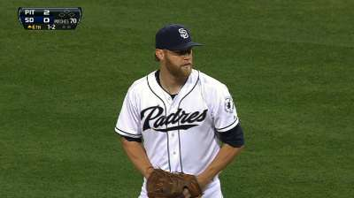 Lack of support costs Cashner in duel