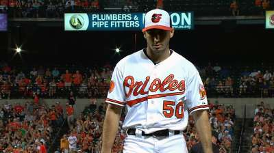 O's line up Gonzalez to start Friday in New York