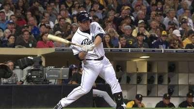 Gyorko's blast lone spark for sluggish Padres
