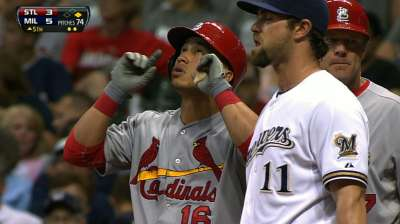 Wong adjusting to new role off Cards' bench
