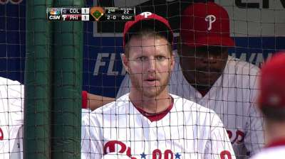 Halladay clarifies comments on Manuel firing
