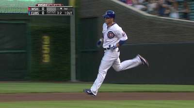 Rizzo moves to two-hole, while Castro leads off