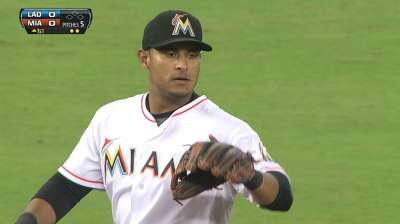 Marlins' bats blanked in Alvarez's bumpy start