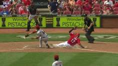 Stellar Latos helps Reds stave off D-backs