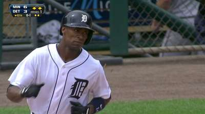 Jackson's blast brings Tigers back, but Twins earn win