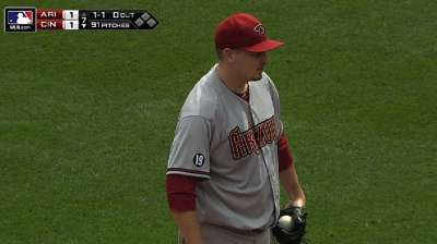 Wildness costs D-backs ground in Wild Card race