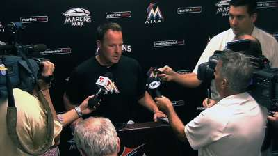 Marlins end stretch against tough lefties