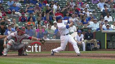 Cubs' Murphy showing burst of power at plate