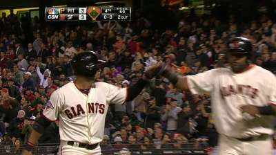 Bochy rests Scutaro on Friday against Pirates